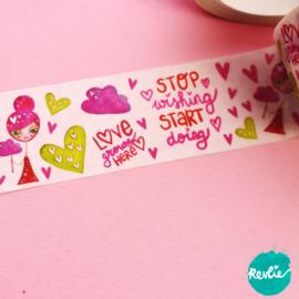 Pinkie washi tape 25 mm - Pinkie