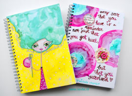"Art Journal Revlie ""Adventure Girl"""