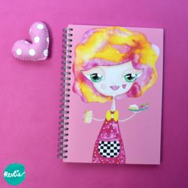 """Art Journal """"Billie"""""""