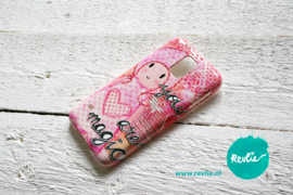 "Samsung Galaxy 5 hardcase 3D.  limited edition ontwerp ""you are magic {girl}"" door Revlie"
