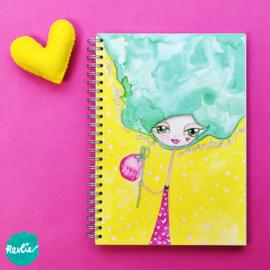 """Art Journal """"Cissie"""""""