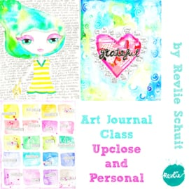 Art Journal Class Upclose & Personal