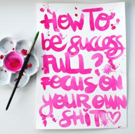 HOW TO BE SUCCESFULL - origineel script.