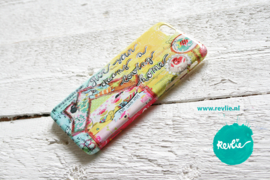 "iphone 6 hardcase 3D.  limited edition ontwerp ""loving home"" door Revlie"