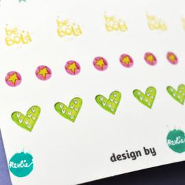 Stickersheet Rickie Radio Girl 002