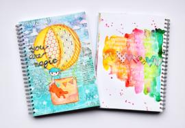 "Art Journal Revlie ""you are magic (boy)"""