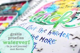 Gratis proefles Waterverf in je Artjournal