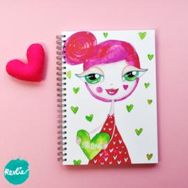 """Art Journal """"Sally"""""""