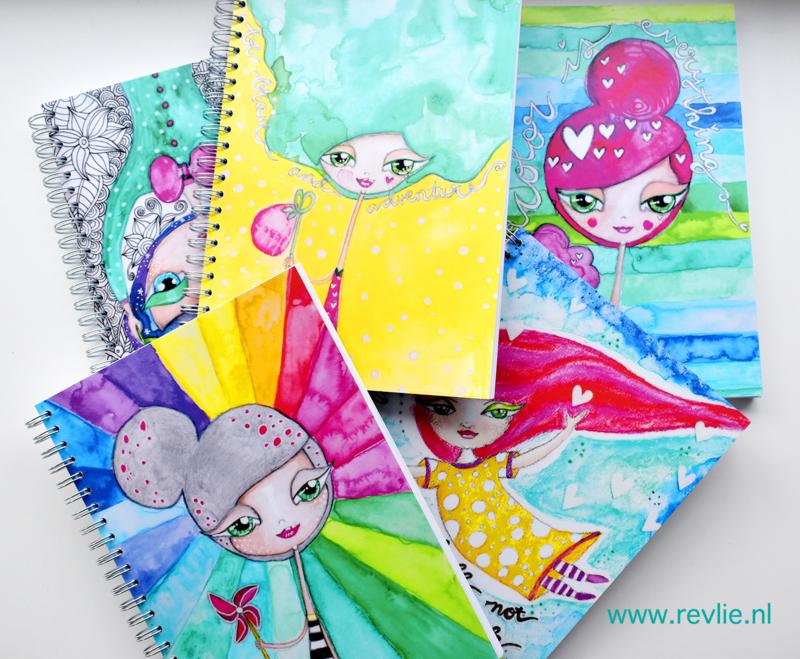 AANBIEDING! 3 Art Journals naar keuze!