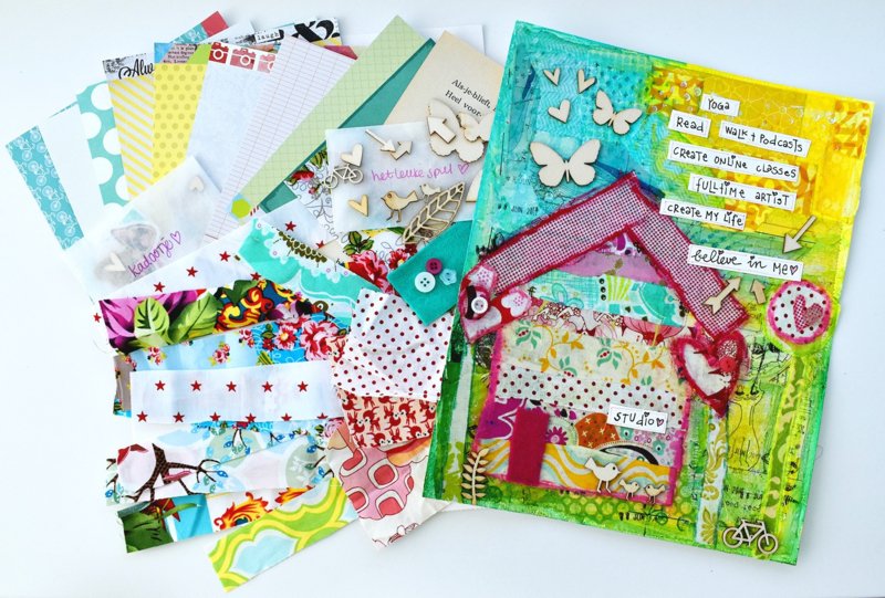 Online les + KIT Mixed Media, speciaal voor kids!