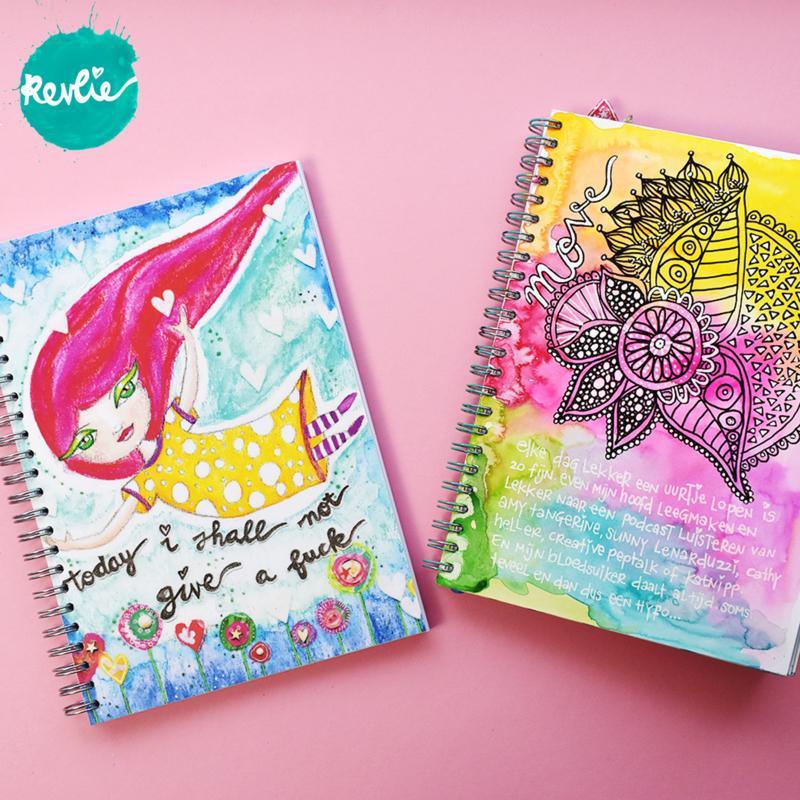 "Art Journal ""Spooky"" Girl"