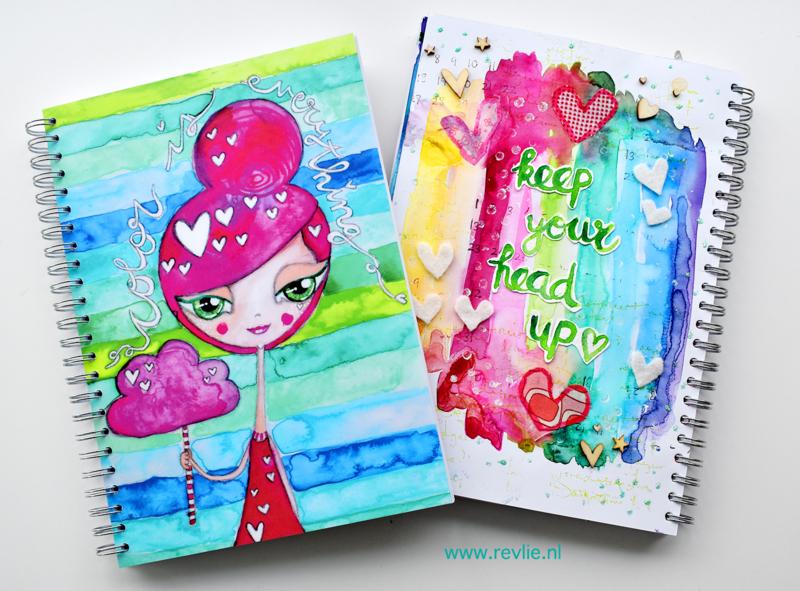 "Art Journal Revlie ""Color is Everything Girl"""