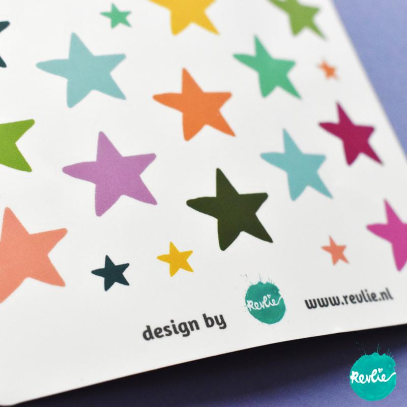 Stickersheet Love Shack Stars 001