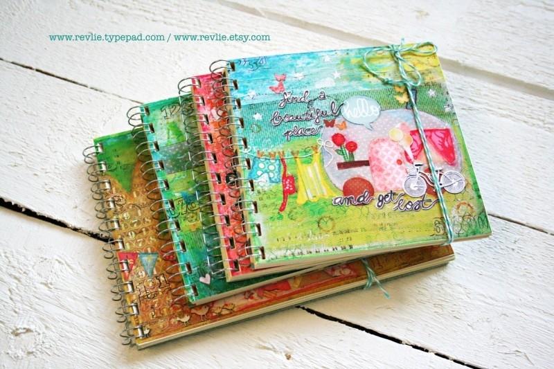 Uniek notitieboekje LOVE YOU MORE met geheime berichtjes van mij & gratis twee REVitup ansichtkaarten