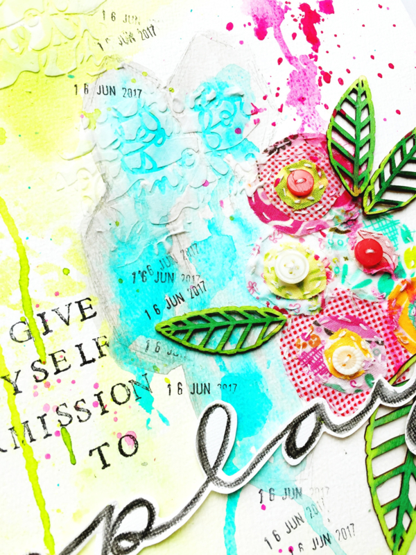 Love & Free Yourself More, through art journaling, 12 weeks online class