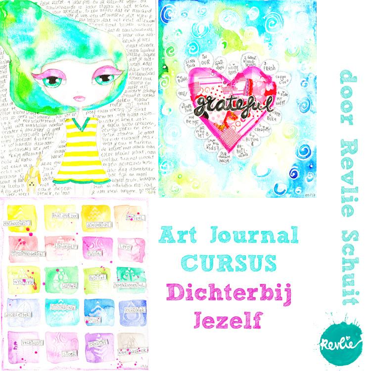 Art Journaling - Dichterbij Jezelf - Online Cursus