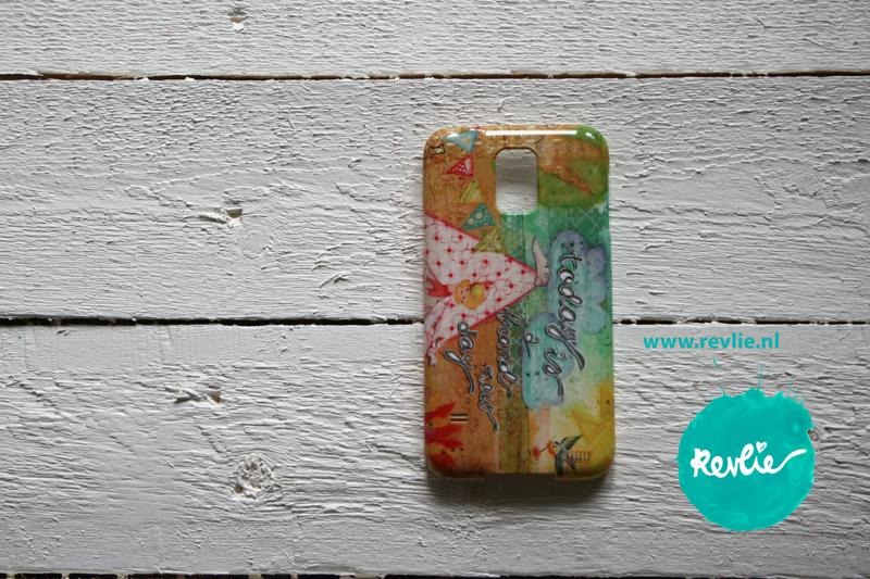 "Samsung Galaxy 5 hardcase 3D.  limited edition ontwerp ""brand new day"" door Revlie"