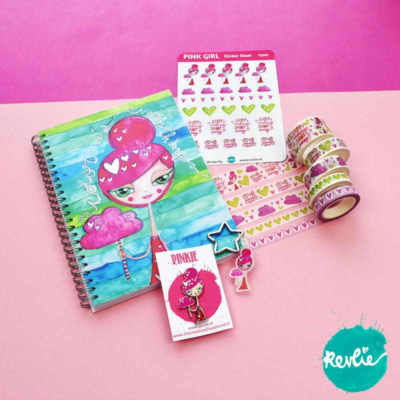 """Gift set B """"Pinkie"""""""
