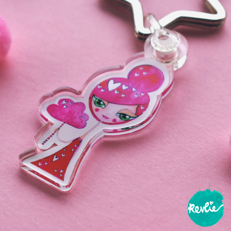 Pinkie Sleutelhanger / Charm