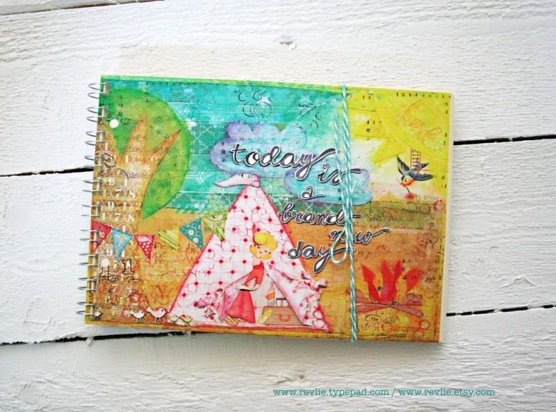 Uniek notitieboekje met geheime berichtjes van mij & gratis twee REVitup ansichtkaarten