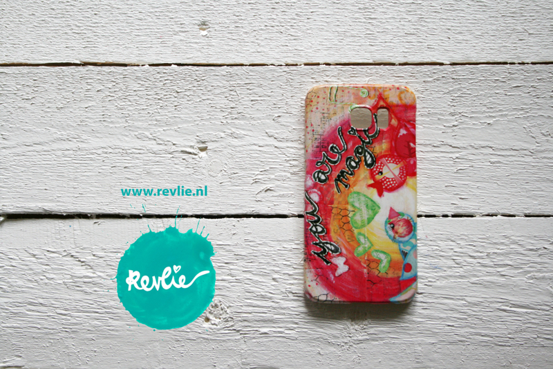 "Samsung Galaxy 6 hardcase 3D.  limited edition ontwerp ""you are magic {birds}"" door Revlie"
