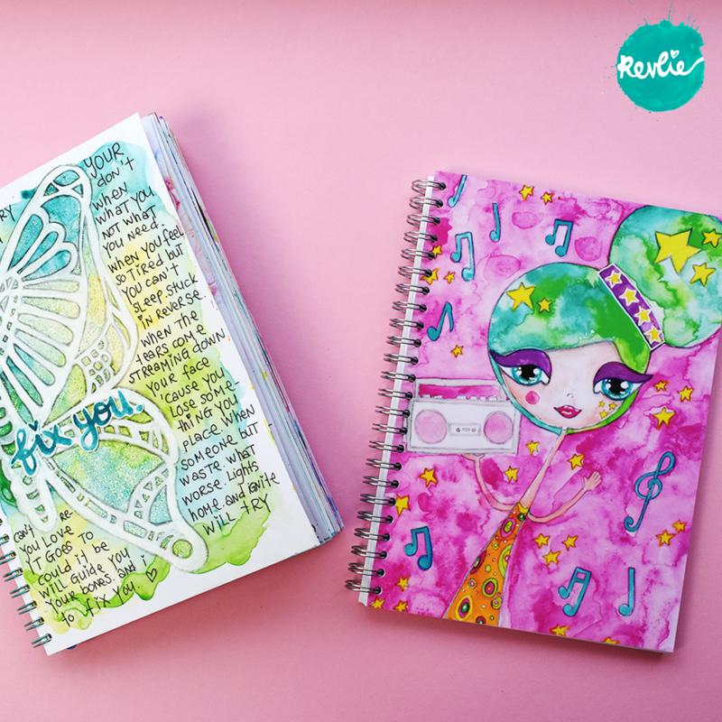 "Art Journal ""Rickie"""