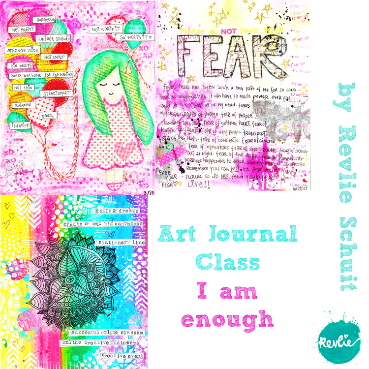 Art Journal Class I Am Enough