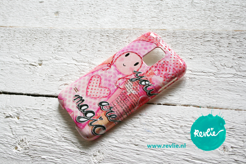 """Samsung Galaxy 5 hardcase 3D.  limited edition ontwerp """"you are magic {girl}"""" door Revlie"""