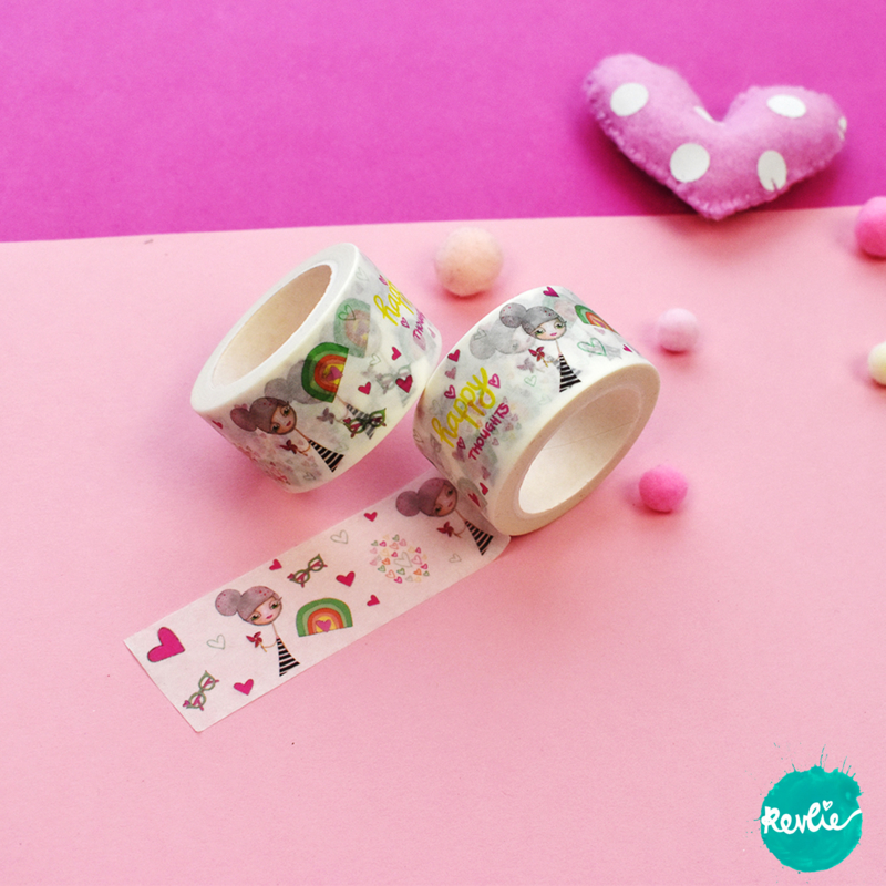 Millie washi tape 25 mm - Millie
