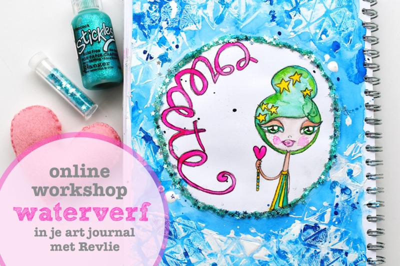 Waterverf in je Art Journal online workshop