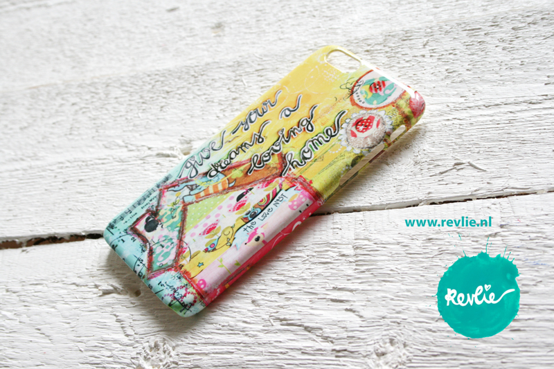 "iphone 6 hardcase 3D.  limited edition ontwerp ""loving home"" door Revlie"