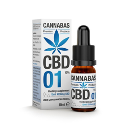 CBD olie - 10 ml - 10%