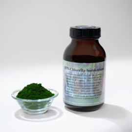 ZEN - Chlorella - 100% Sorokiniana alg - grote pot met 300 gram poeder