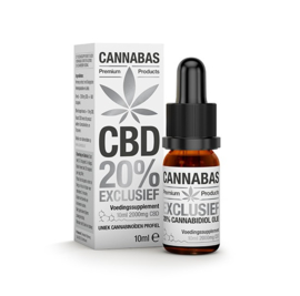 CBD olie - 10 ml - 20%