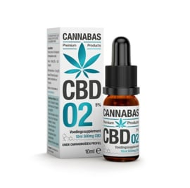 CBD olie - 10 ml - 5%