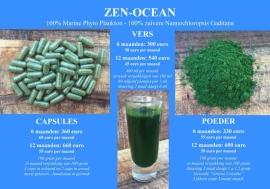 ZEN-Ocean - Abonnement 6 maanden poeder - 100gr poeder per maand (u ontvangt per direct 6 potten)