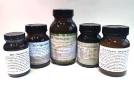 Smoothie pack met ZEN-Tarwegras, ZEN-Enzymes, ZEN-Chlorella, ZEN-Spirulina, ZEN-BiestBoost