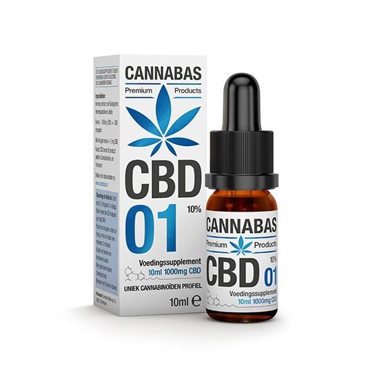 CBD olie - 10 ml - 10%