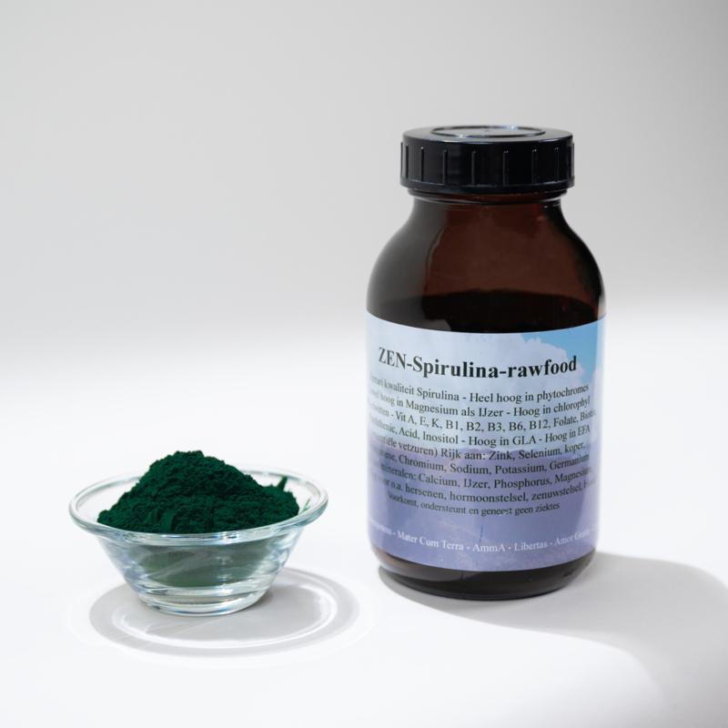 ZEN - Spirulina poeder - grote pot met 300 gram
