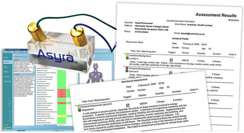 2 uur Asyra - Bioresonantie Consult