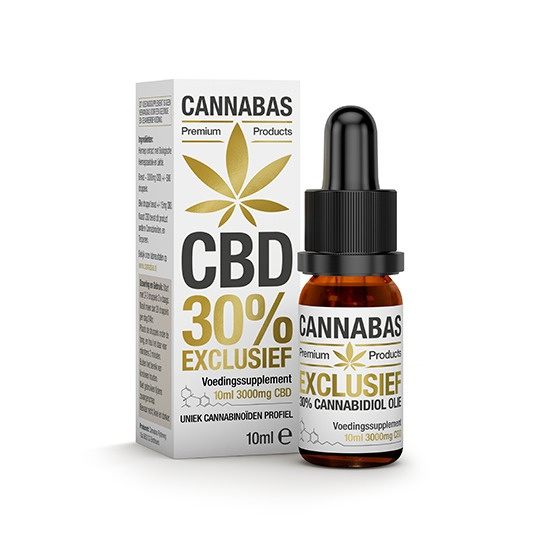 CBD olie - 10 ml - 30%