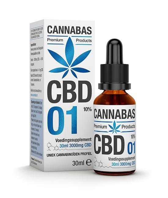 CBD olie - 30 ml - 10%