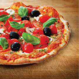 6. Pizza Salame