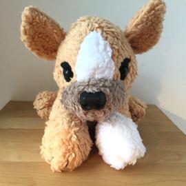Oud knuffeltje namaken: hondje