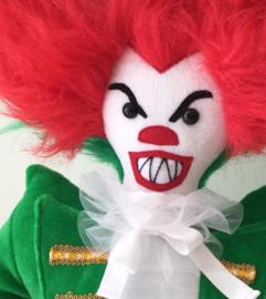 Knuffel in opdracht: horror clown