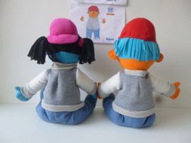 custom toy: mascotte jeugdfonds breda