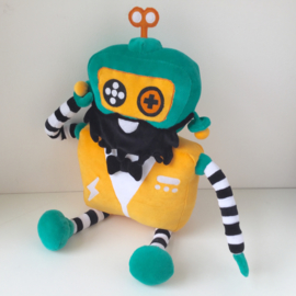 Knuffel in opdracht: zachte robot