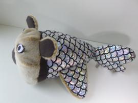 Knuffel van tekening: happy koala vis