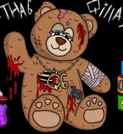 Knuffel op maat: Horror beertje
