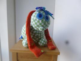 Knuffel op maat: knuffel lappen pony